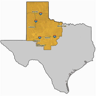 texas high plains map business ideas 2013