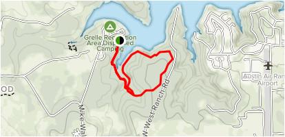 Texas Hiking Trails Map Grelle Recreation area Loop Trail Texas Alltrails
