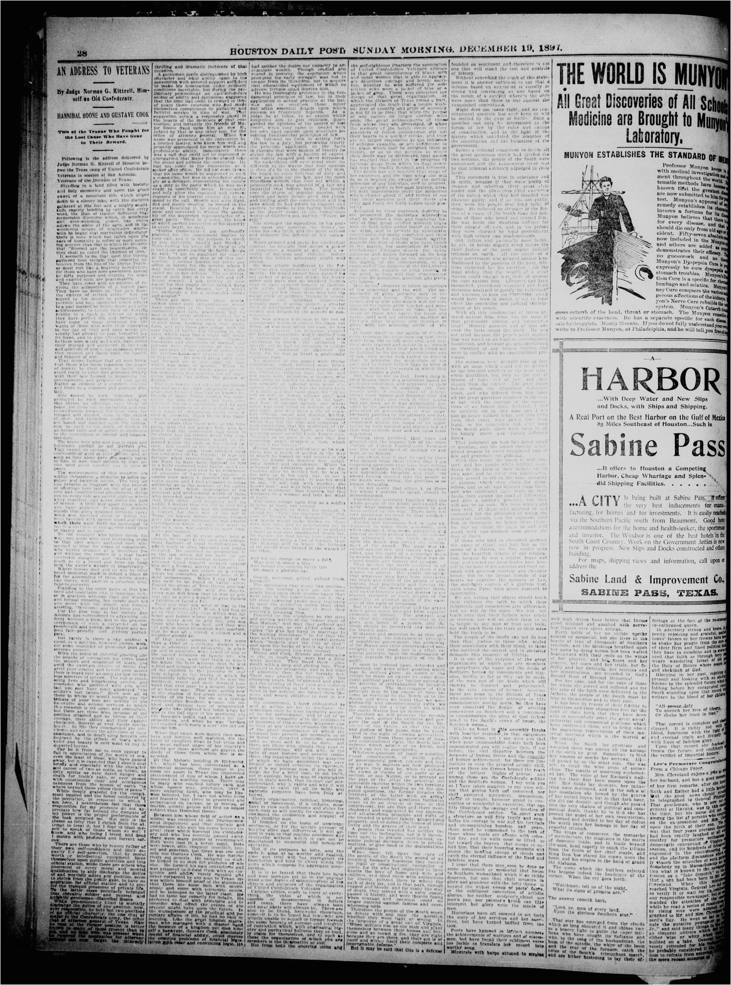 the houston daily post houston tex vol thirteenth year no
