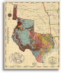 Texas Map 1845 Republic Of Texas 1845 Texas Ideas for House Republic Of Texas