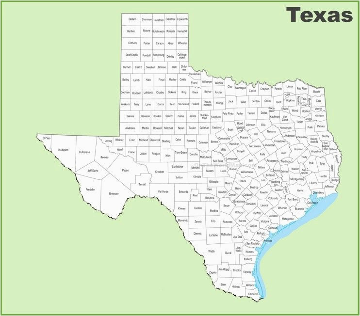 texas county map favorite places spaces texas county map
