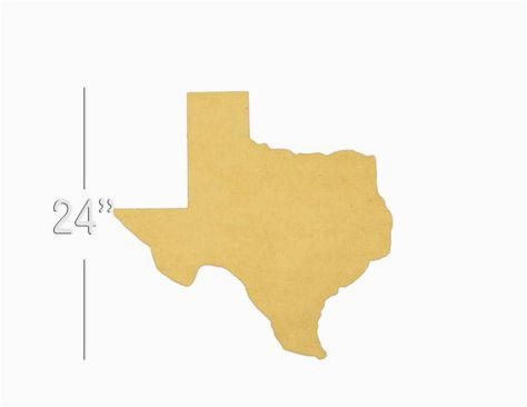 texas state unfinished wooden shape paintable wooden craft texas