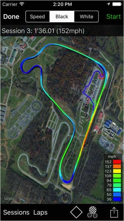 trackday for iphone by ftlapps