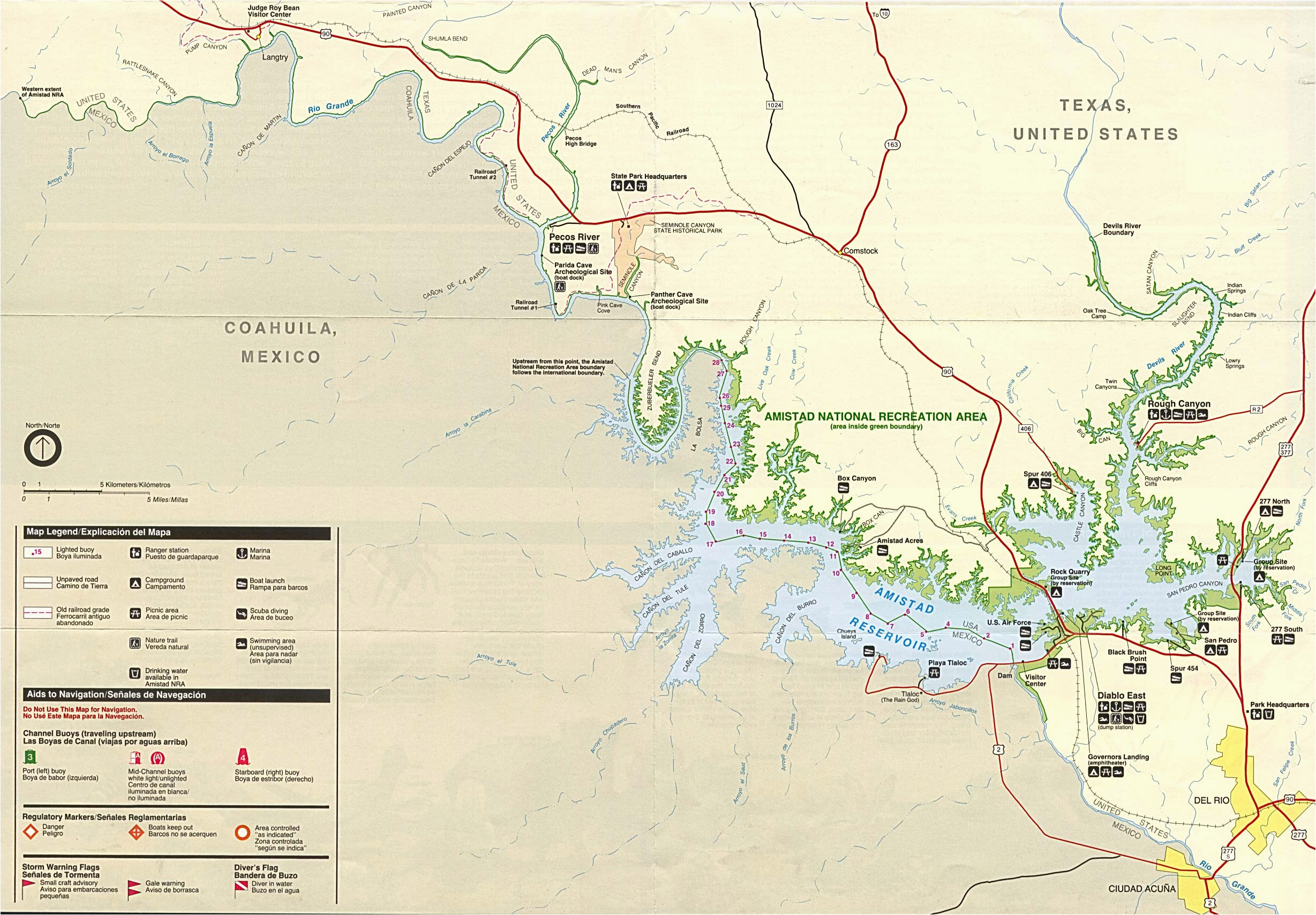 Texas National Parks Map Maps Of United States National ...
