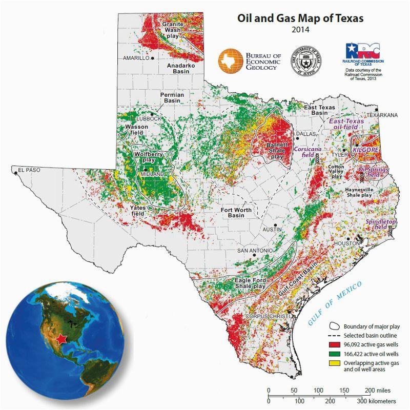 Map Of Texas 2014.Texas Oil Fields Map Secretmuseum