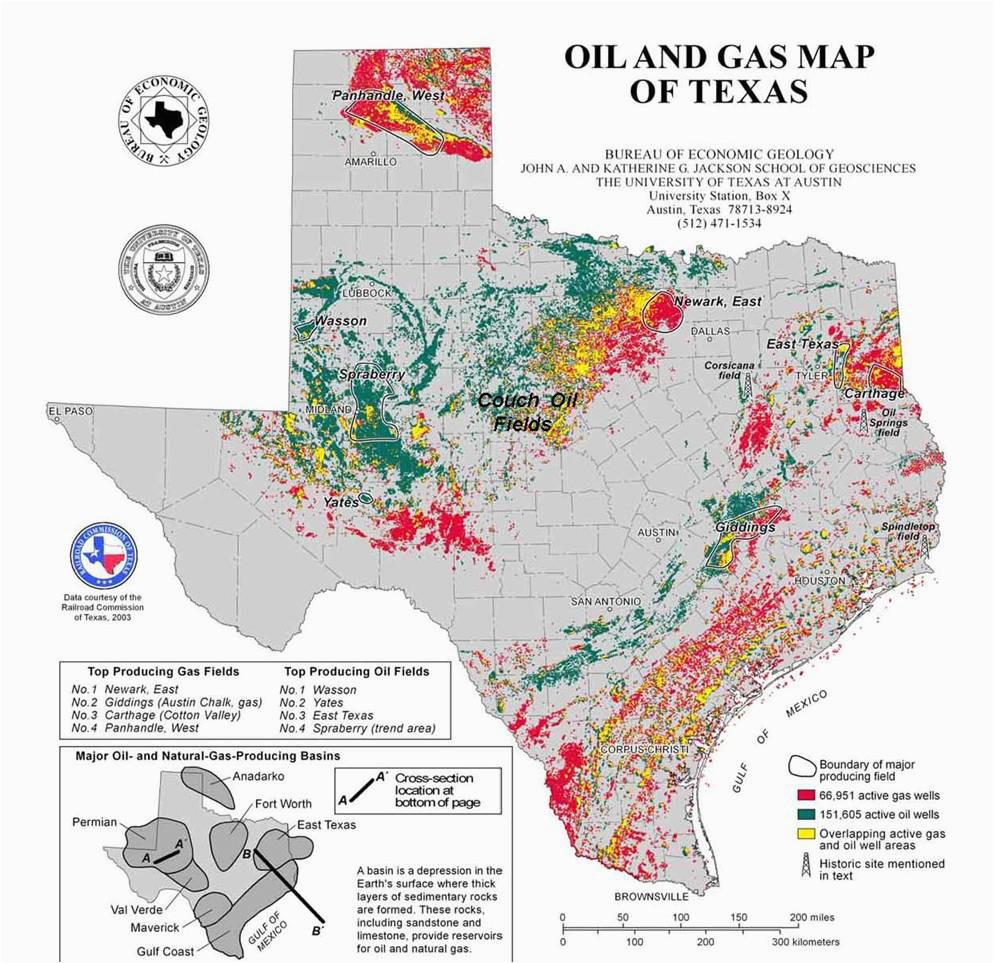 texas oil map business ideas 2013