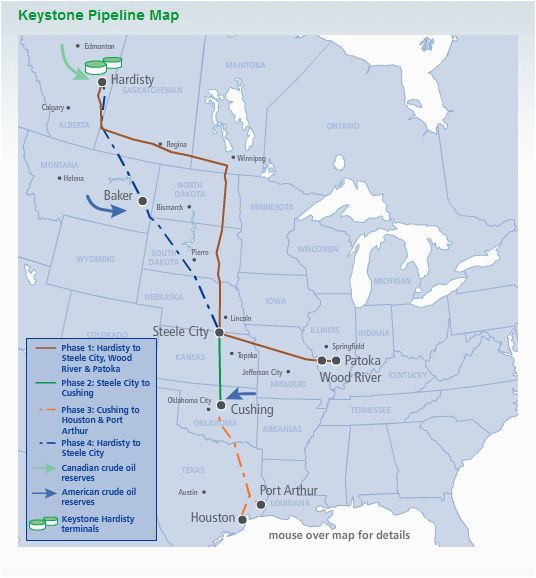 Texas Oil Pipeline Map Transcanada S Pipeline In Texas Remains A