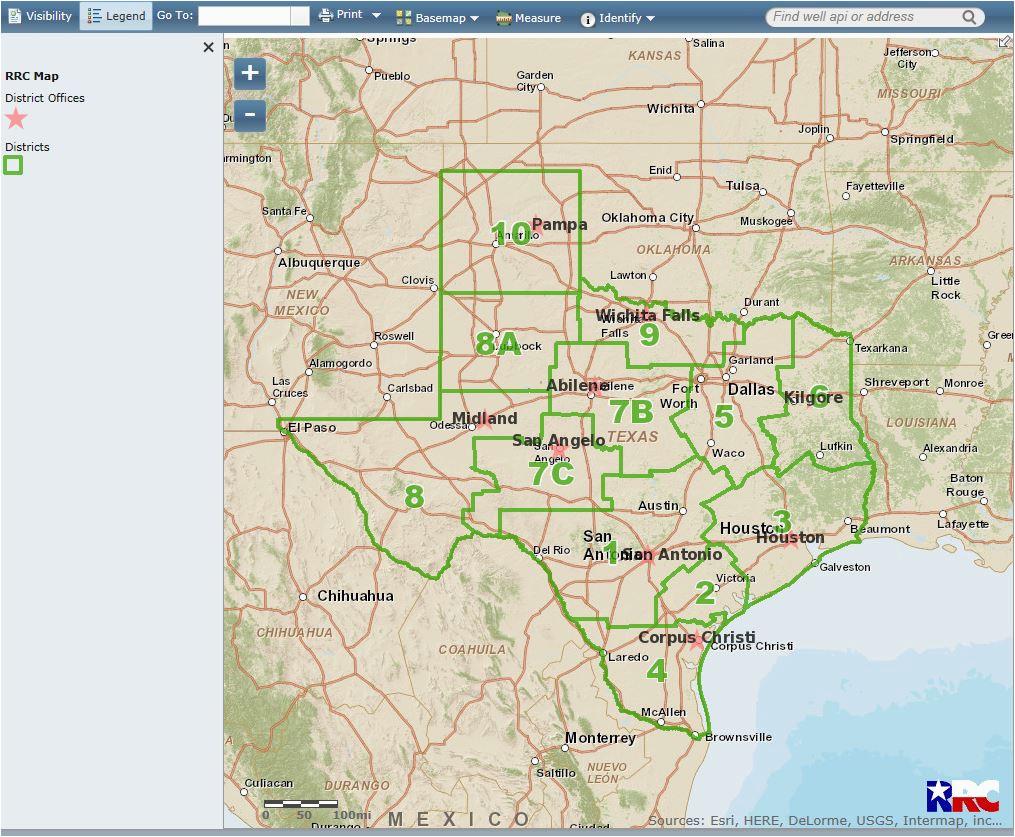texas railroad commission gis map business ideas 2013