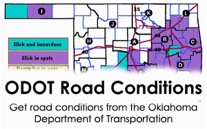 oklahoma weather road conditions news ok