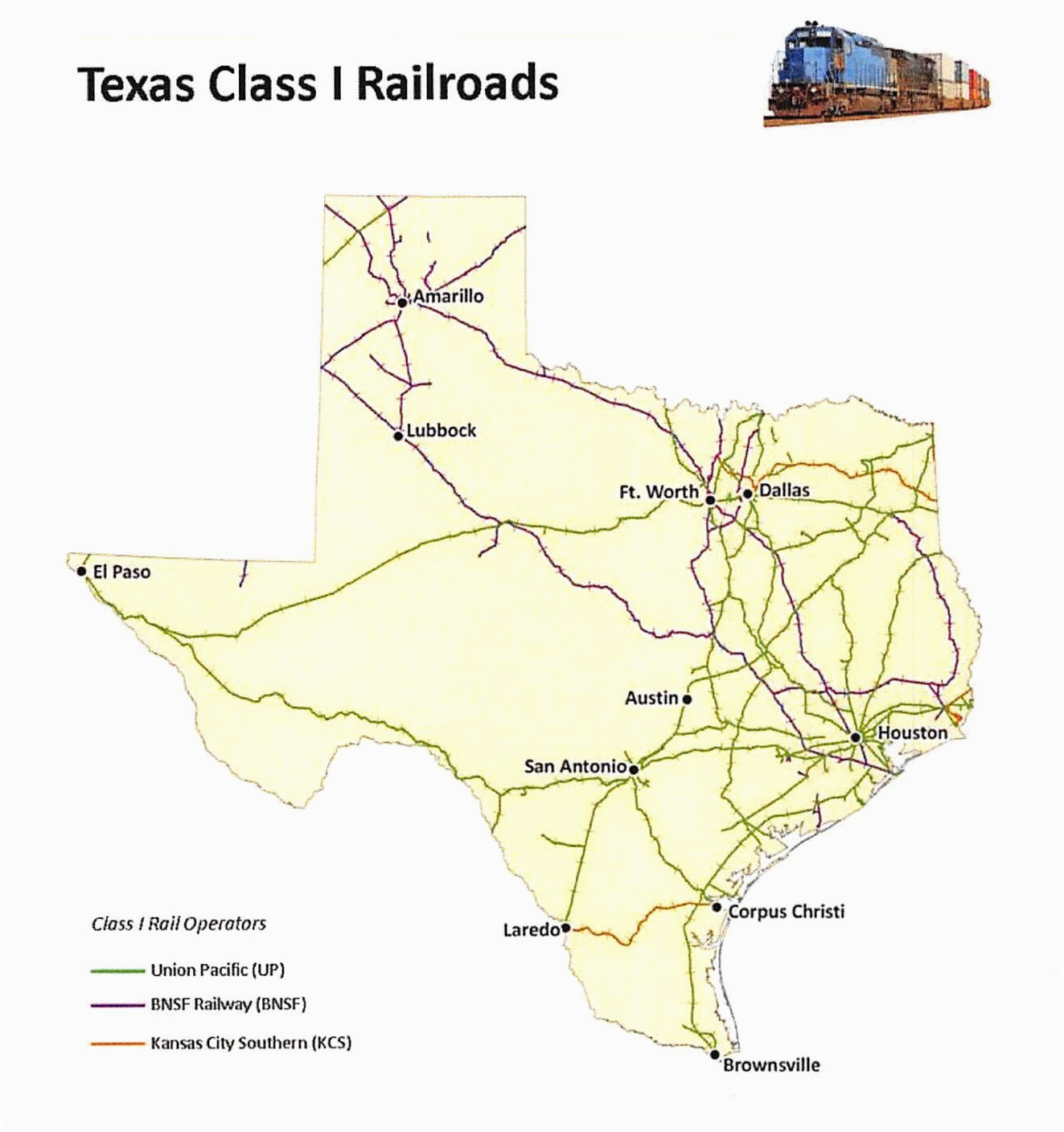 texas rail map business ideas 2013