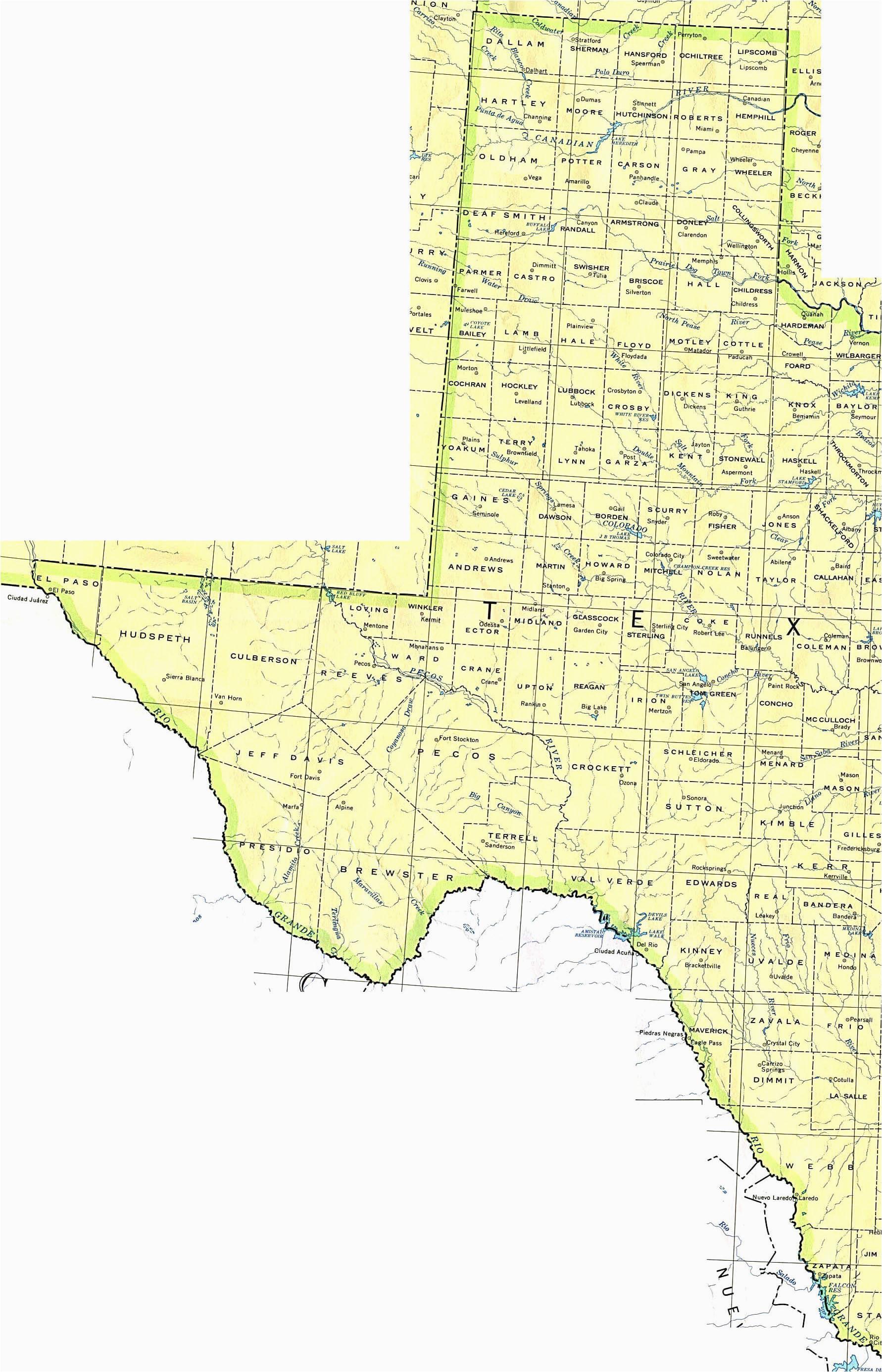 west texas towns map business ideas 2013