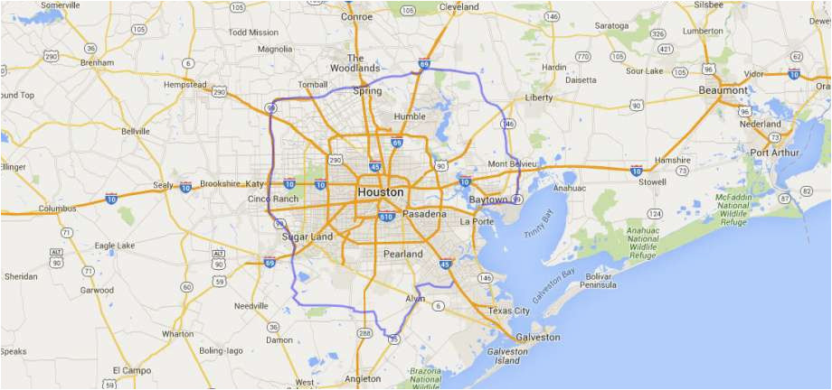 see how grand parkway compares in size to other land formations