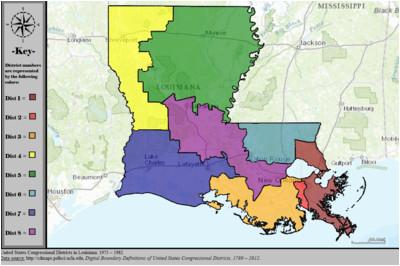 louisiana s congressional districts wikipedia
