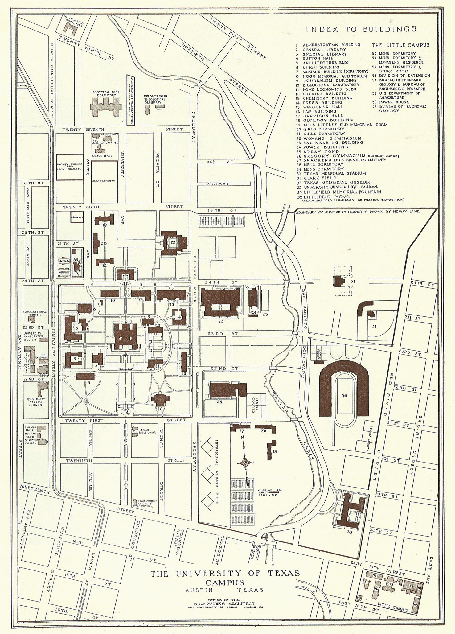 university of texas austin campus map business ideas 2013