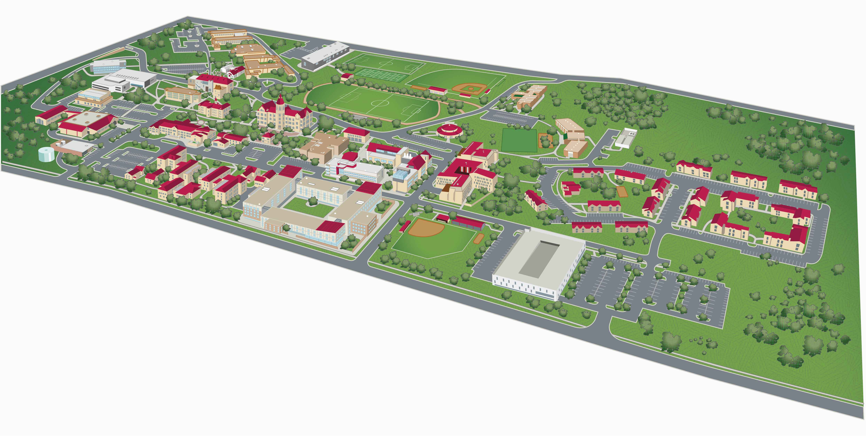 campus map st edward s university in austin texas