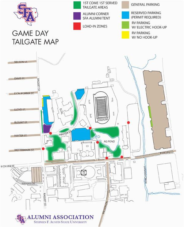 campus maps sfasu