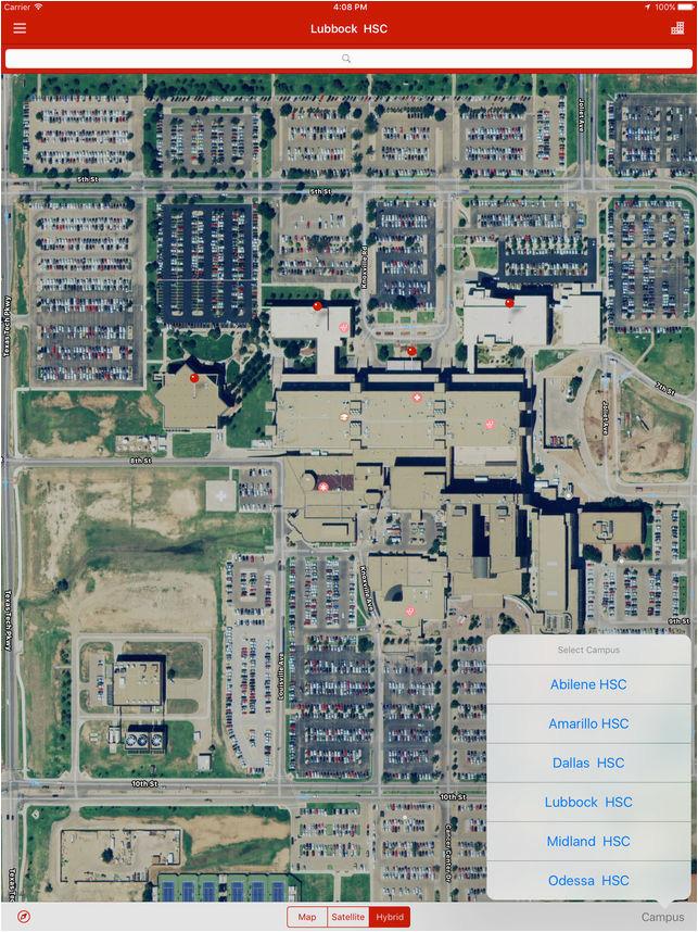 Texas Tech Parking Map | secretmuseum