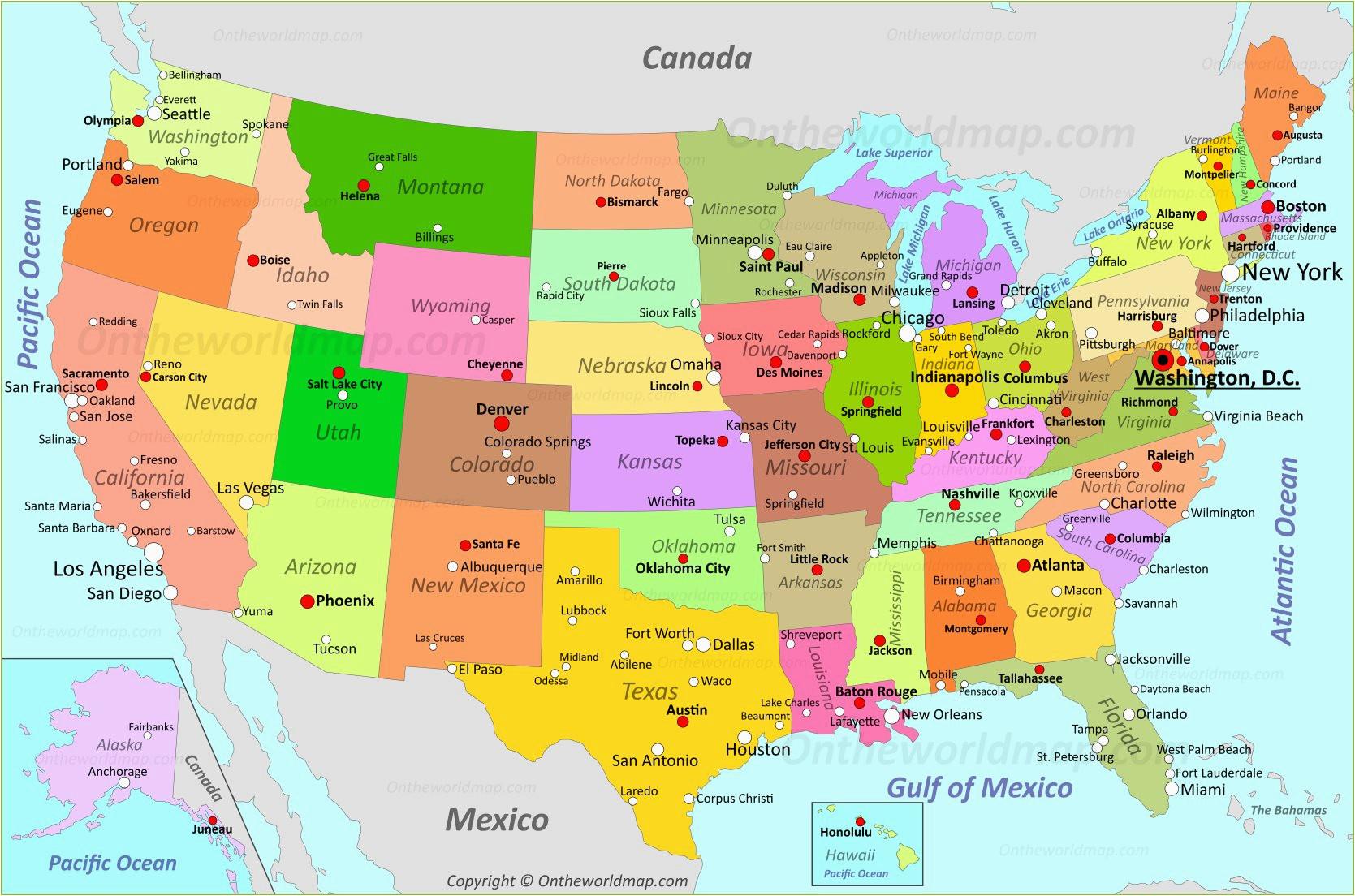 Texas to Oklahoma Map | secretmuseum