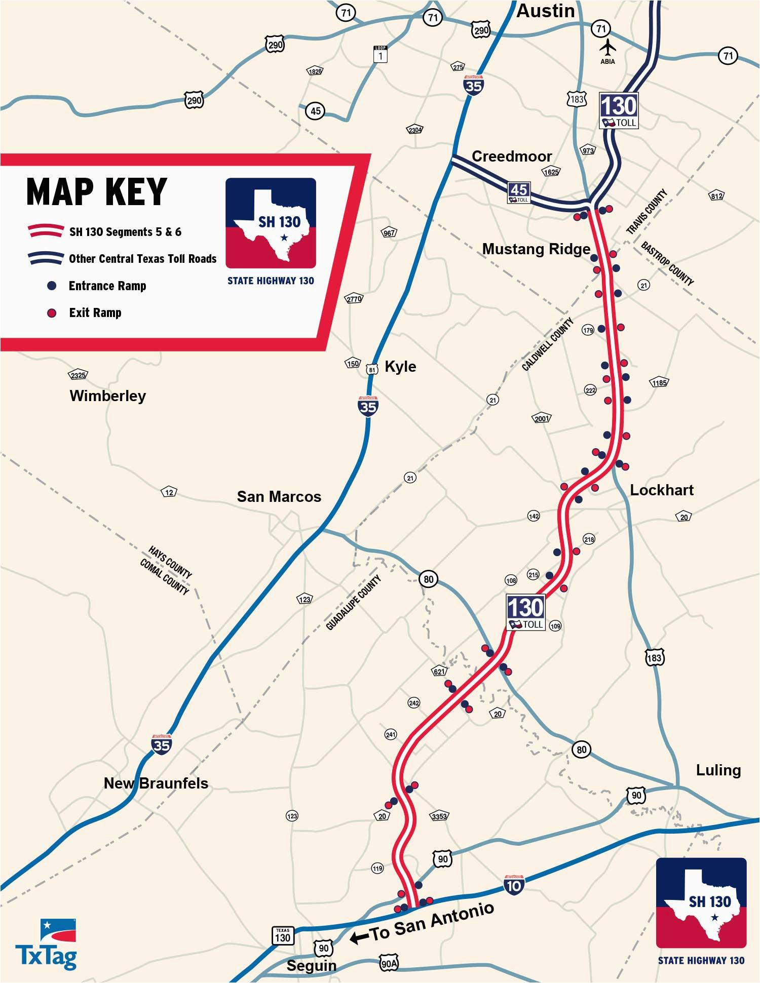 Texas toll Roads Map | secretmuseum