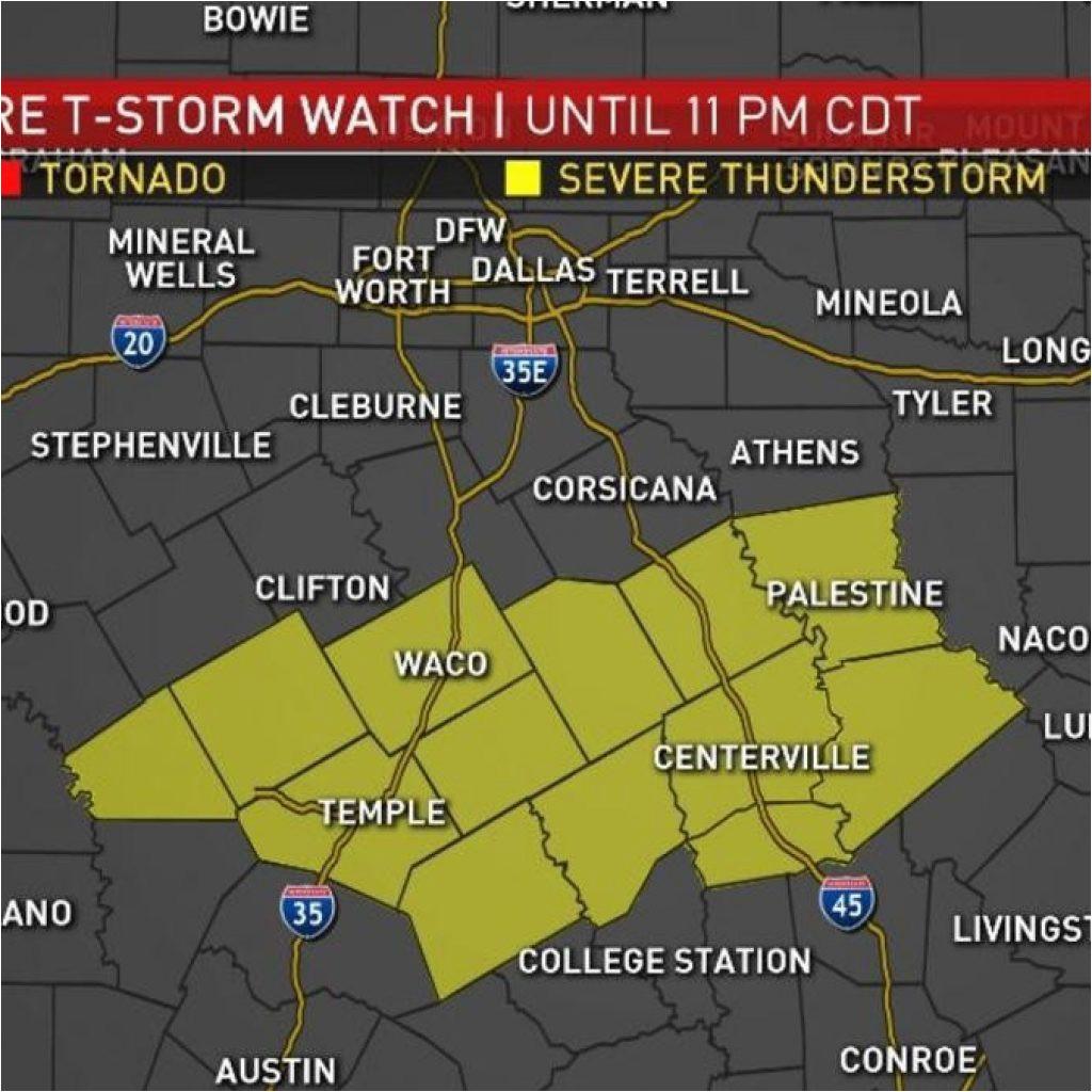 texarkana weather radar map parts of north texas under severe