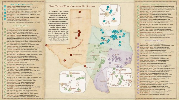 map of wineries in texas business ideas 2013