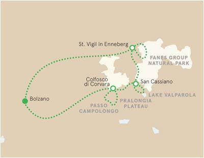 dolomites italy map italy dolomites in 2019 hiking tours italy