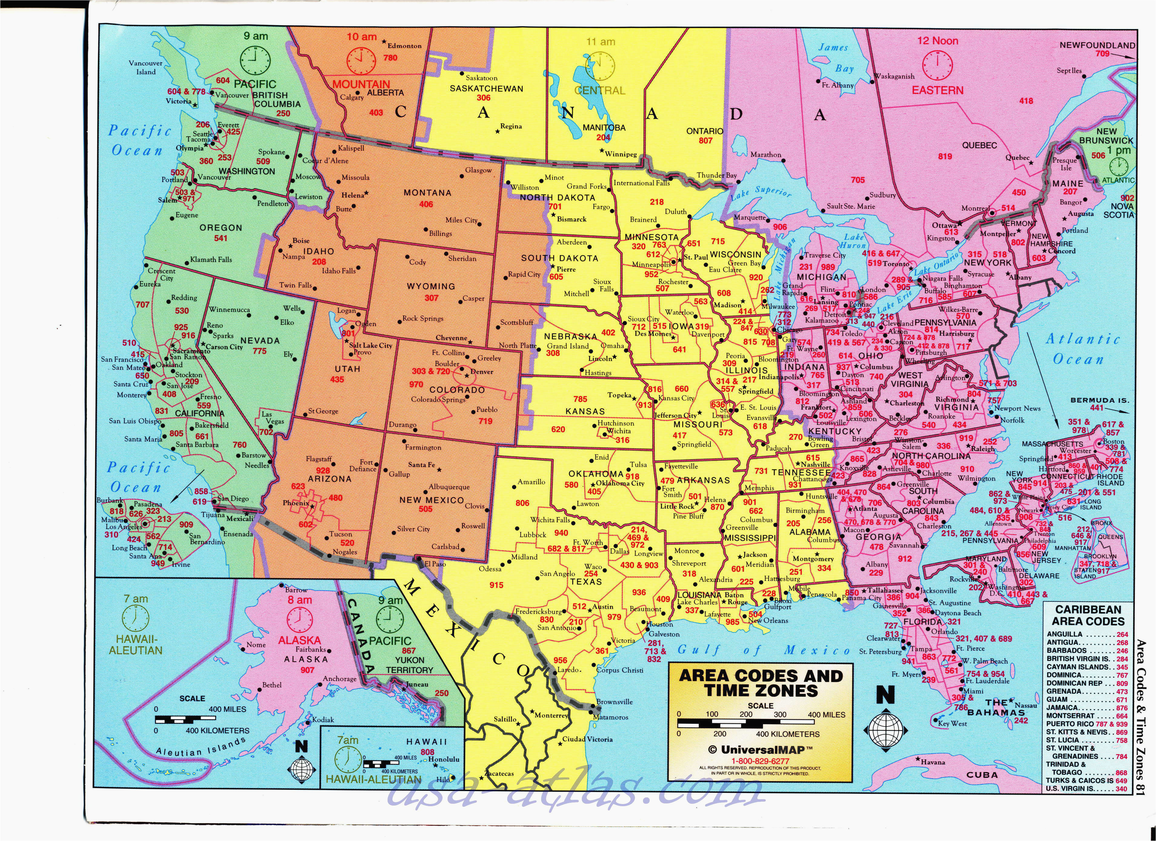 Time Zone Map for Tennessee Princeton oregon Map Us area Code Map ...