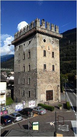 tirano centre square picture of tirano province of sondrio