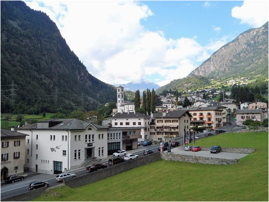 tirano valley and mountain picture of tirano province of sondrio