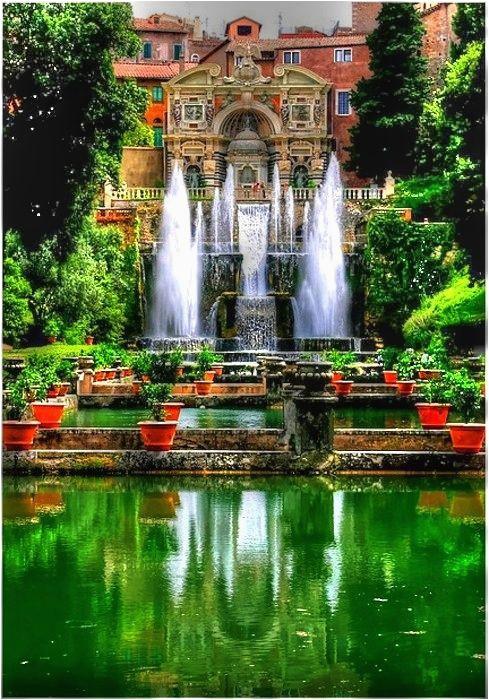 tivoli gardens dream home jardines de tivoli roma italia italia