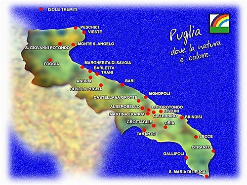 puglia photo pages italian maps map travel inspiration travel