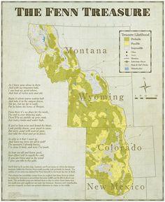 14 best fenn treasure images forrest fenn treasure maps map