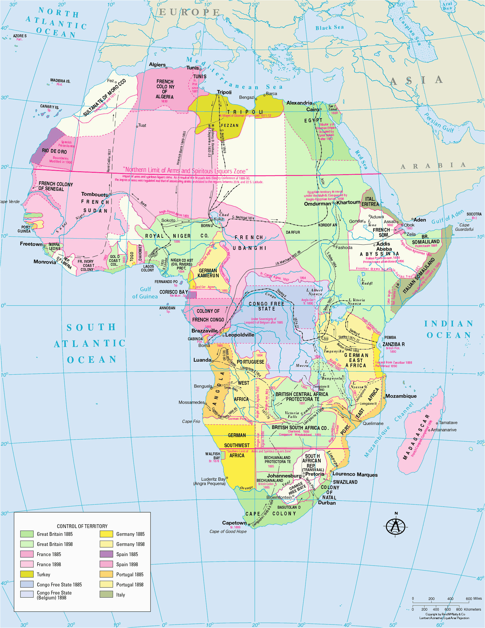 map of the crusader states new european partition africa 19th