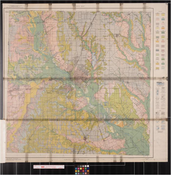soil map texas dallas county sheet the portal to texas history