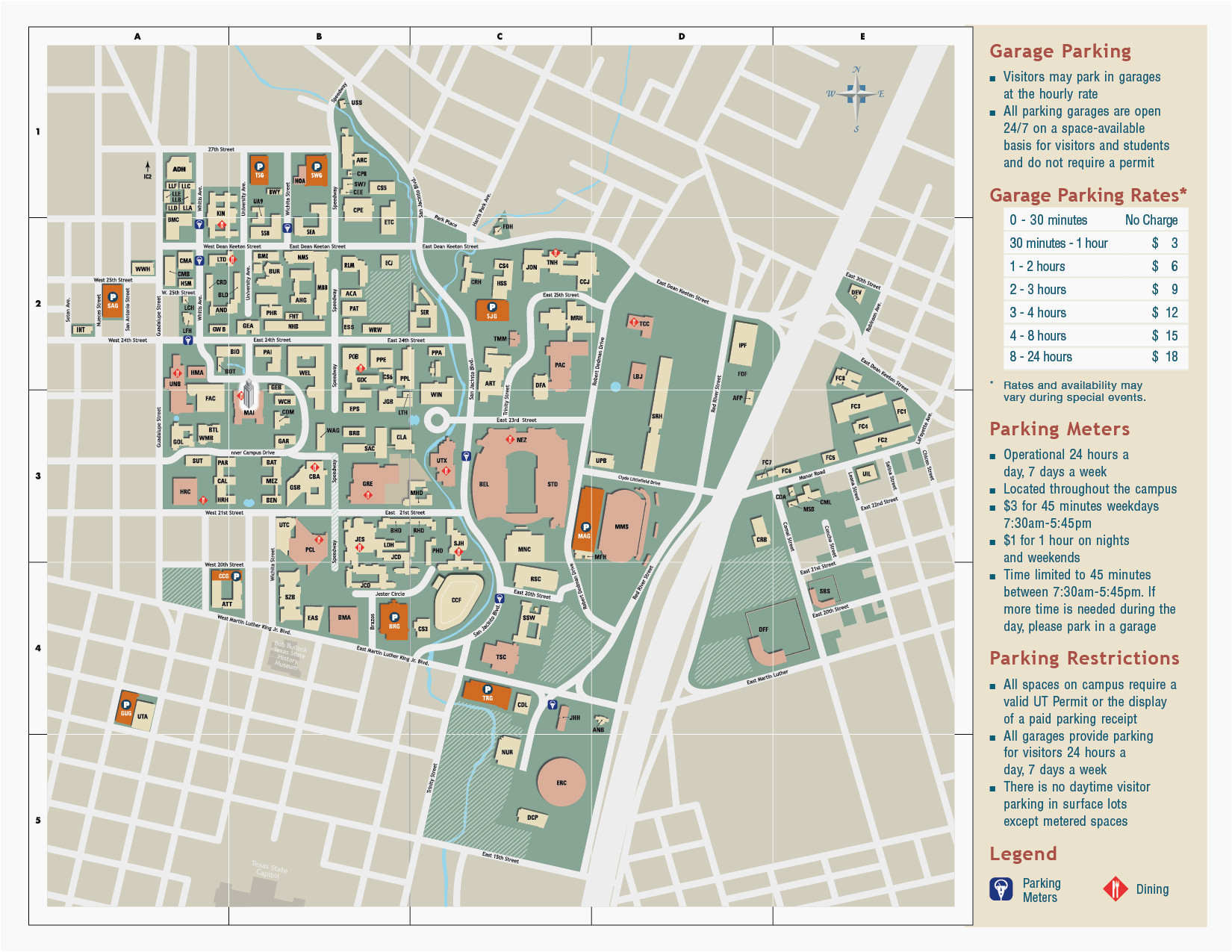 university of colorado boulder campus map university of texas at