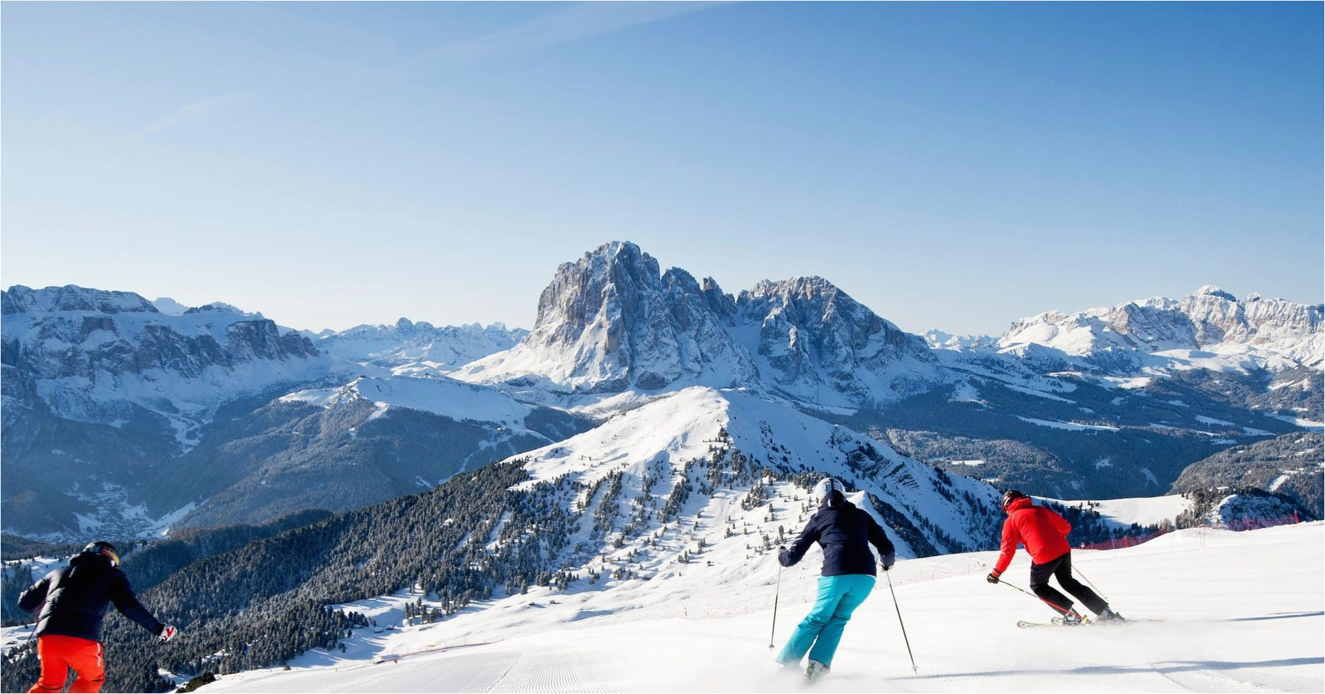 skiing dolomites ski resort val gardena