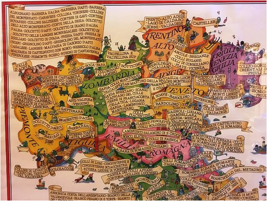 area wine map picture of cantina zeni e museo del vino bardolino