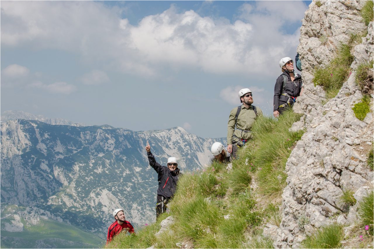 Via Ferrata Italy Map Via Ferrata Amazing Experience You Must Try In Montenegro Share