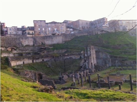 volterra roman theater ruins volterra italy picture of teatro