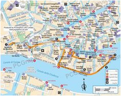 23 best maps of venice images map of usa us map blue prints