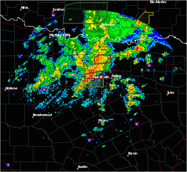 Weather Map Dallas Texas Interactive Hail Maps Hail Map for Dallas Tx