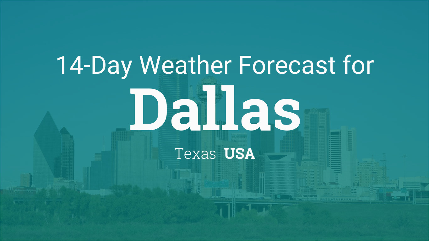 dallas texas usa 14 day weather forecast