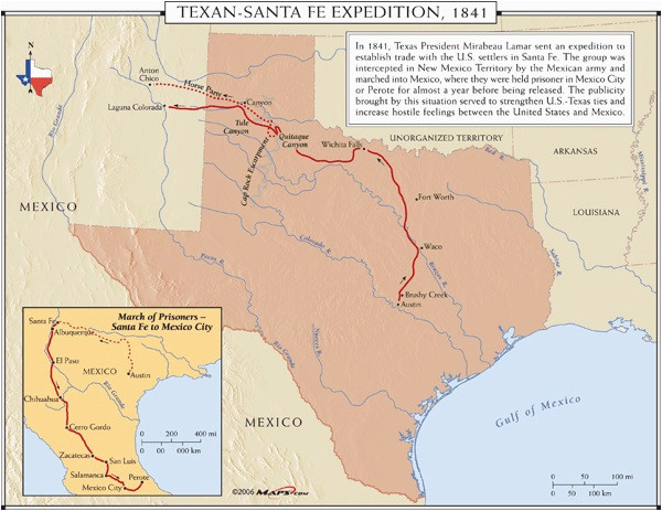Where is Santa Fe Texas On the Map Republic Of Texas the
