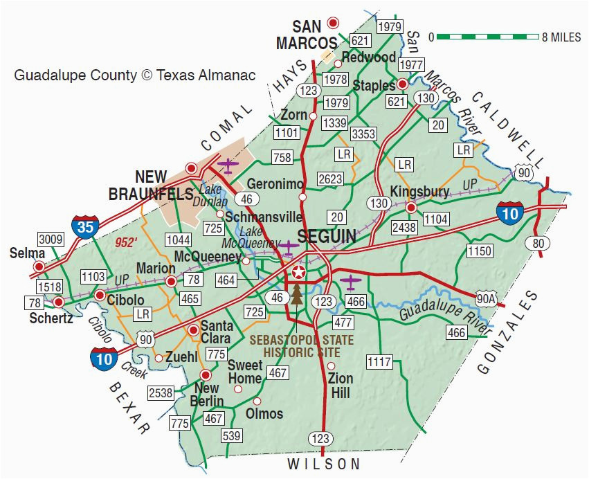 Seguin Texas Map >> Where Is Seguin Texas On A Map Guadalupe County The Handbook Of