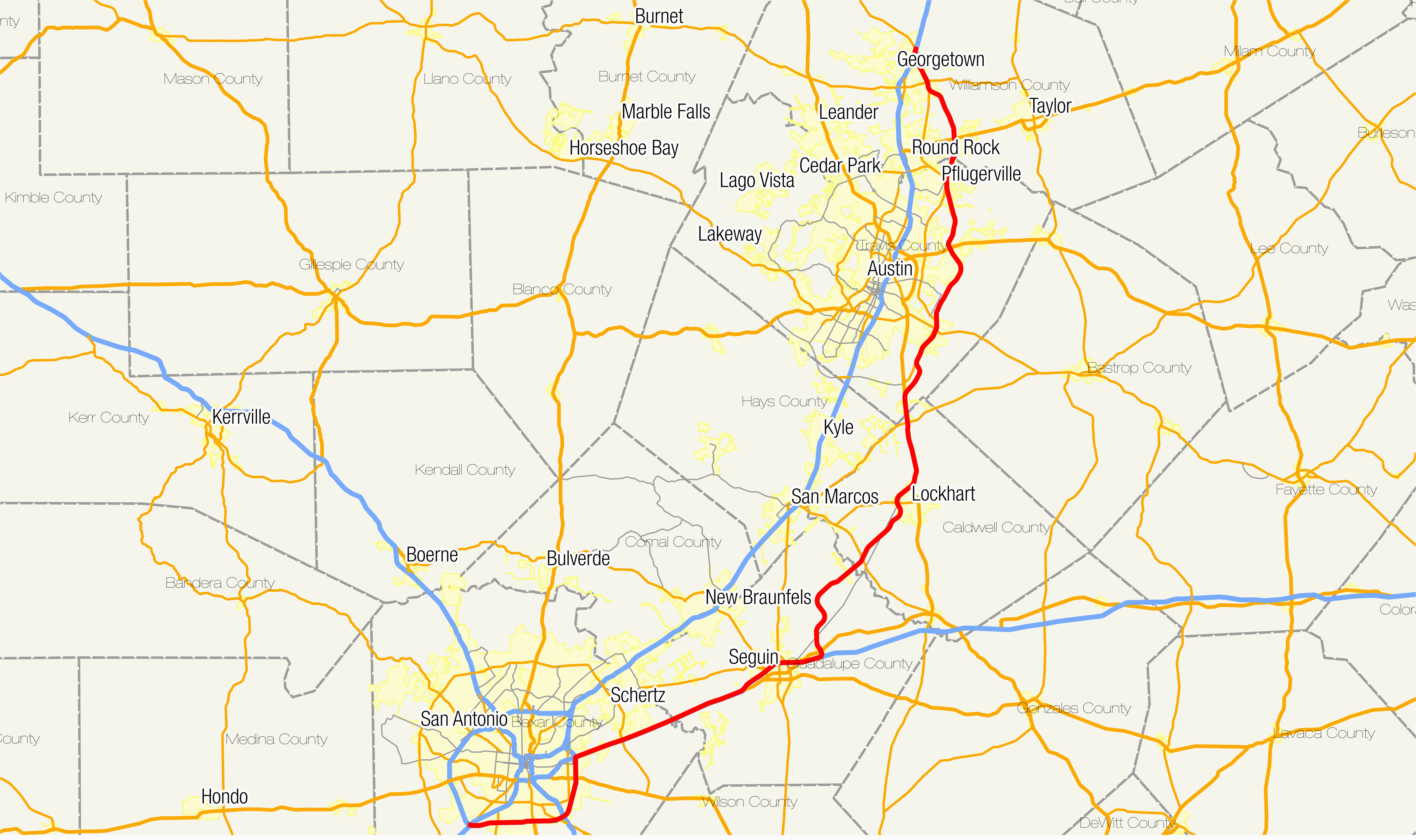 Seguin Texas Map >> Where Is Seguin Texas On A Map Toll Roads In Texas Map Business