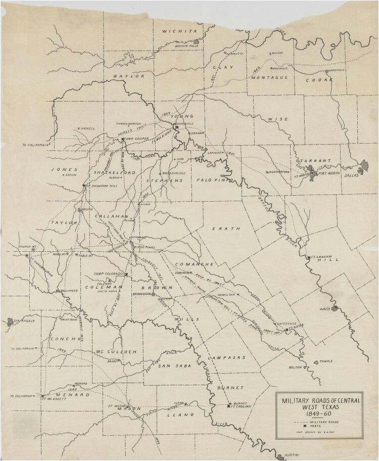 west texas map t west texas