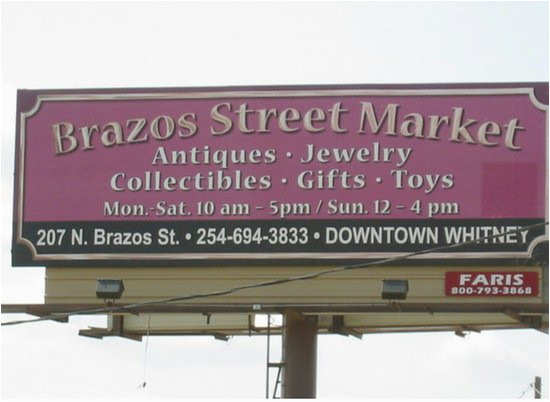 brazos street market whitney 2019 all you need to know before