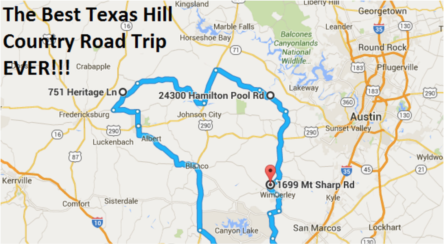 the ultimate texas hill country road trip is right here and you ll
