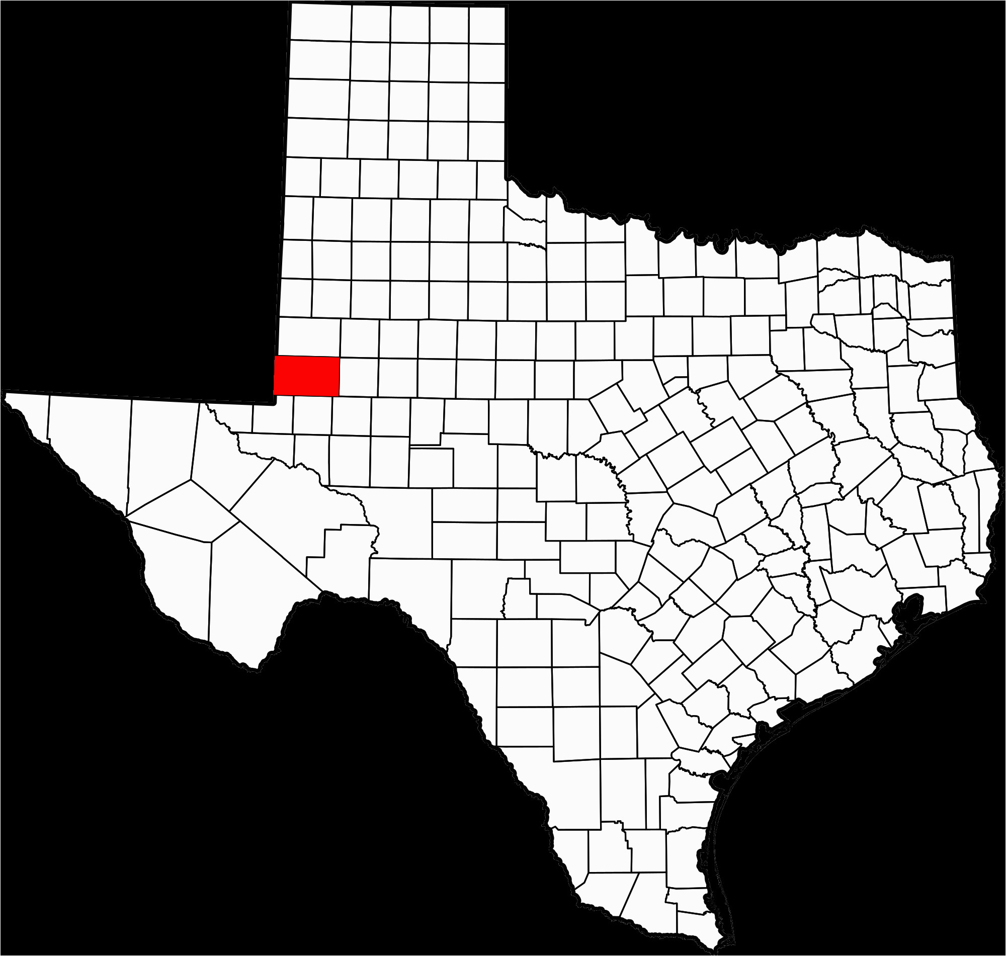 datei map of texas highlighting andrews county svg wikipedia