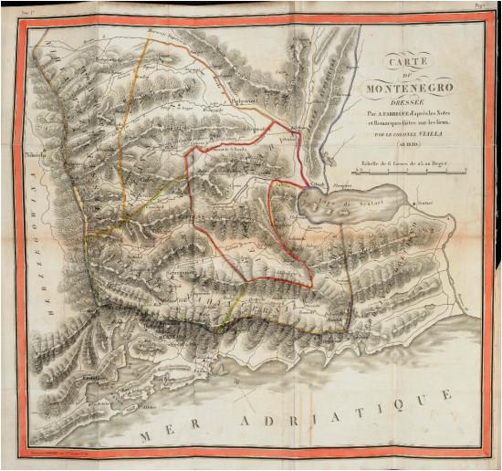 montenegro in 19th century maps and history books european studies